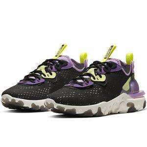 Новые эпические Реагировать Видение элементной 87 Тайных бегущую обувь для женщин Дизайнерского кроссовок спортивного тренера обувь Черного Антрацит CD4373 Грея