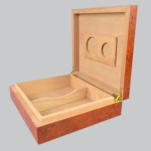 Alta qualidade Big Box cigarro Humidor criativa Red Cedar armazenamento do charuto de madeira Humidor, pode conter 25 - 30 charutos
