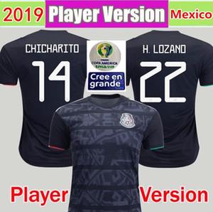 2019 Copa América Mejor jugador versión mexico camisetas de fútbol camiseta de fútbol 19 20 CHICHARITO Camisetas de futbol Maillot de foot mexicano