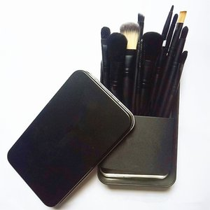 12pcs-M AC Kozmetik Makyaj Fırçalar Setleri Yukarı Fırça Seti brocha de maquillaje DHL Ücretsiz Kargo olun Kiti