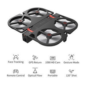 GPS Foldable Drone Quadcopter with 1080P HD Camera Foldable Altitude Hold RC Drone