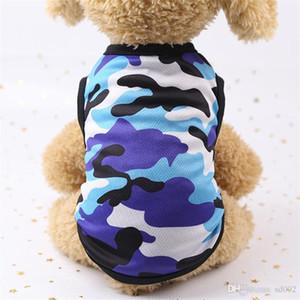 Impresión de malla de dibujos animados Animales Chaleco de ventilación para perros Gilet ropa sin mangas multi color opcional flor de primavera y verano 4 5gcb1