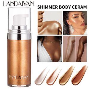 HANDAIYAN 20ml Liquid Highlighter Face& Body Shine Makeup Highlighter Palette Body Face Bronzers & Highlighters