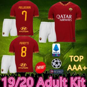 2020 roma kit для взрослых Джерси DZEKO PEROTTI PASTORE ZANIOLO TOTTI Рим футбол Джерси 19 20 футболка DE ROSSI 2019 как майо де ног рома