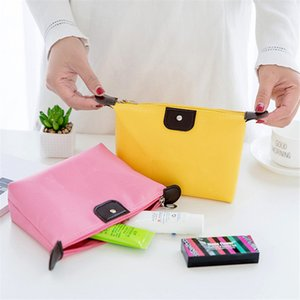 Multifunctional Waterproof Nylon Cosmetic Bag Storage Makeup Bag Casual Purse Cosmetic Case Portable Outdoor Travel Bags