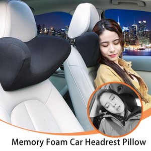 Car Neck Pillow Seat Head Neck Rest Auto Memory Foam Support Protector Automobiles Headrest Pillow Protection Universal Decor
