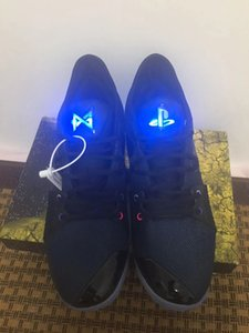 19AW Yeni Paul George PG 2 II Men Basketbol Ayakkabı PG2'dir PlayStation All-Star Aydınlık Dil Spor Sneakers Açık Ayakkabı