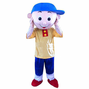 2018 Factory direct sale new Cailou Mascot Costume Cartoon Fancy Dress Adult size Free Shipping