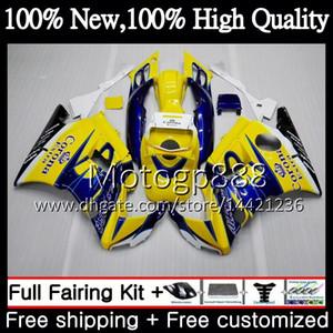 Honda CBR 600F2 92 FS için Vücut CBR600 F2 91 92 93 94 AAPG9 Mavi Corona CBR600FS CBR 600 F2 CBR600F2 1991 1992 1993 1994 PERAKE KAZANDIĞI