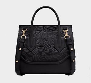 PALAZZO EMPIRE Medusa Bordado Barroco de Lujo Bolso de la Marca Superior Diseñador de Alta Calidad Bolso de Moda de Las Mujeres