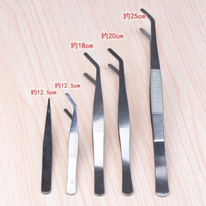Stainless False Eyelash Extension Tweezers Mink Eyelash Extensions Anti Acid Makeup Tools Fast Shipping F2773