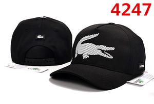 2019 Nuevo diseño Hombres Gorras de béisbol 100% algodón Sombreros con cabeza de tigre Oro Hueso bordado Hombres Mujeres casquette gorras golf Sports Polo Cap free Shi