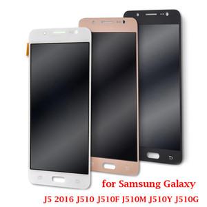 Samsung Galaxy J5 2016 SM-J510F J510FN J510M J510G J510 J510F LCD Ekran Dokunmatik Ekran Sayısallaştırıcı Meclisi Değiştirilmesi İçin