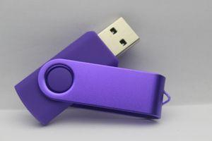 Sıcak Promosyon pendrive 32GB 64GB 128GB 256GB Fedex ile USB Flash Sürücü Y1 U Disk dönme tarzı hafıza kartı için