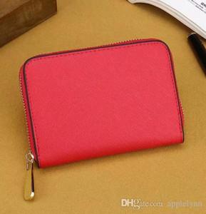 Kadınlar marka tasarımcısı küçük kısa cüzdan bozuk para cüzdanı kart sahibinin 7 renk pu poşetin 0011