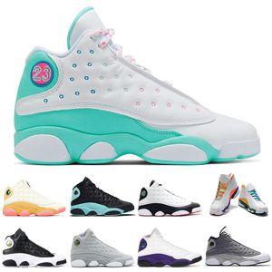 New 13 13s chaussures de basket-ball homme Femmes Flints Barons Chat noir Amour et respect Altitude formateurs baskets mode sport pour hommes