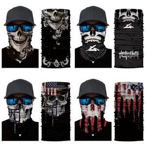 9Kpwp Le Nouveau CANT I Skull Scarf BREATHE Masques de protection Masque crâne magique écharpe Riding Multifonctionnel Skull Foulard Foulard Mouvement Fa # 835