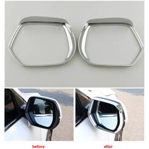 Chrome Rear View Side Espelho Chuva Visor Tampa guarnição para Honda CRV CRV 2012-2015
