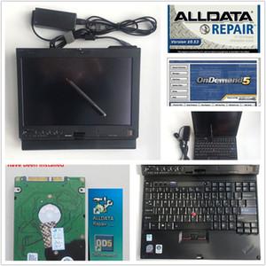 Computer mit alldata Reparatur hdd neue 10.53 und Mitche * ll 5.8 installierte Version Laptop X200t Touchscreen