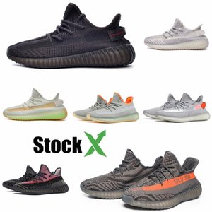 2020 Infant Baby Boy Girl & & Youth & 35O Shoes Sports Shoes Kanye West V2 Pirate Black Turtle Sneakers Eur 28-35 #QA814