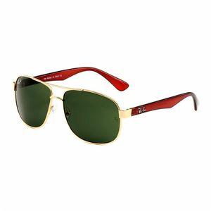RB8316 2High Quality Classic Pilot Sunglasses Designer Brand Mens Womens Sun Glasses Eyewear Metal Glass Lenses