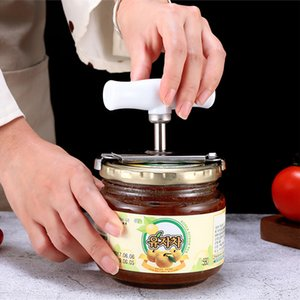 Adjustable Jar Opener Stainless Steel Lids off Jar Opener Bottle Opener Can for 1-4 inches Kitchen Gadget