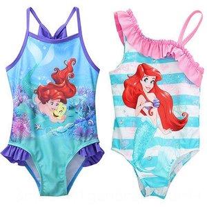Glane Mermaid Baby Girl Crianças Maiô equipamentos Biquini Tankini Beach Water Sports Swimsuit Traje de natação