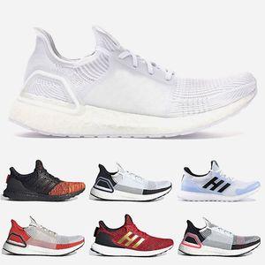 Adidas Ultraboost boost bost UB 4,0 Beyaz Üçlü Siyah Primeknit Eğitmenler Oreo CNY Mavi gri Erkekler Kadınlar Ayakkabı Ultra artırır spor Sneakers Koşu