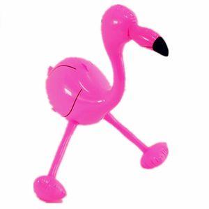 Playa Inflable Flamingo Juguete Infantil Acción de gracias Decorar Cumpleaños Pequeños regalos Jugar a Factory Factory Selling Direct Pink 3 9jy C1