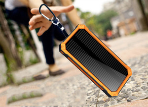 Enorme capacidade Solar Power Bank 30000mAh Waterproof Battery Charger For All Telefone Dual-USB