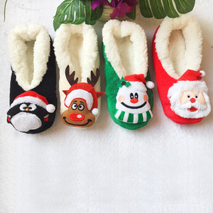 Le donne Girl serie di natale di Natale del fumetto Slipper Socks ispessite Piano calzino Party Shoes di slittamento non di alta qualità 27 centimetri 12jd E1