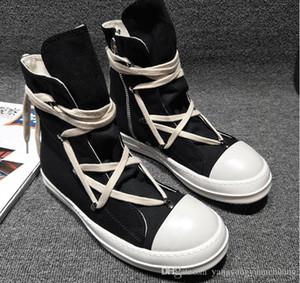 2018SS ayak ve tek olarak yerini yüksek Orijinal TPU Kokulu tek Toprak Tonu Vegan yüksek üst hakiki tuval sneaker trainer çizmeler
