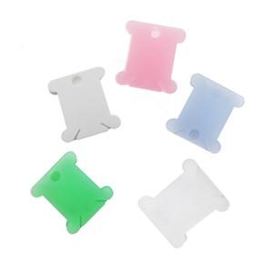 50pcs Nakış Floss Craft İplik Bobin Çapraz Dikiş Depolama Tutucu Plastik Dikiş İplik Kurulu Kart Craft Takımı