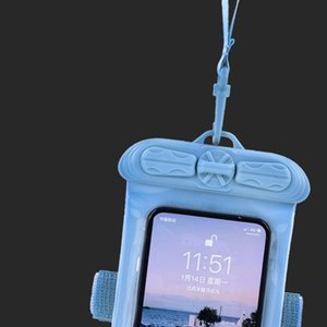 Swimming Universal Waterproof Pouch Cell Phones portable bag Touch Screen Cellphones Pouch For Surfing Diving On Beach Sea Use