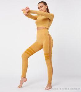 Yoga clothing suit hip yoga pants sportswear high waist fitness pants women tight leggings Women's Tracksuits