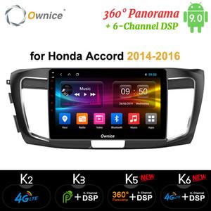 "Ownice 10.1"" Android 9.0 Oto DVD Radyo GPS Navi k3 k5 k6 HONDA Accord 9 2014 2015 2016 için"