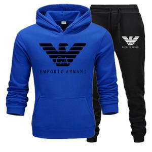 G2Armani Yeni 2020 Erkek Tasarımcılar eşofman Sonbahar Markalar Erkek Suit Spor eşofman Jogger Suit Ceket + Pantolon Setleri womens