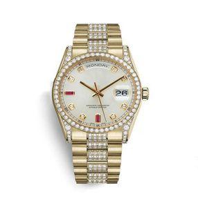 negócios pulseira de aço inoxidável Top moda masculina calendário 41 milímetros bem com a perfuração de relógio à prova d'água dos homens mecânicos automáticos