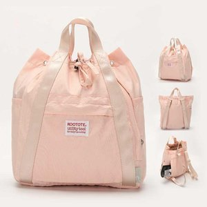 High Grade Pink Mini Rootote Backpack New Casual And Simple School Bag Weekender Rucksack Go On Sale 1Z8WM