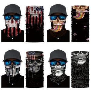 EbMqs Neckerchief Seamless Magic Skull Skull Scarf Face Warm Skull Scarf Cycling Riding Masks Mask Outdoor Outdoor Facial Party Masks#721