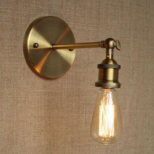 Brass Wall Light Chandelier Edison Vintage lampe industrielle Retro Nouveau