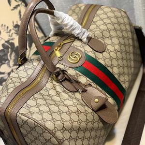 Viagem Duffel sacos de moda de luxo Gym Sports Bag Overnight Bag Weekend bagagem Tote Vintage Bolsa de Ombro Keepall