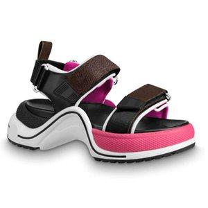 Dernières sandales femme d'arrivée designer marque de mode belle femme Archlight sandales de luxe Taille modèle CXSY 35-40