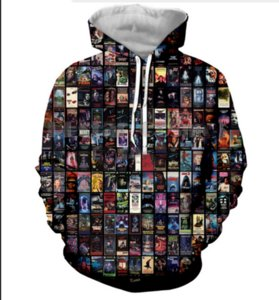 Neue Mode Coole Sweatshirt Hoodies 3D Print Mens Womens Casual Halloween Heiße Art Streetwear Kleidung RL0190