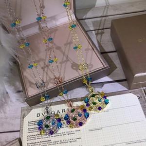 2019 nouveau collier au trésor de petite couleur reproduction classique généreuse élégante longueur de la chaîne réglable
