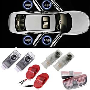 LED Volkswagen VW 폴로 골프 5 6 7 도어 라이트 Passat B3 B5 B6 B6 Touareg Scirocco CC LED 환영 로고 라이트 프로젝터