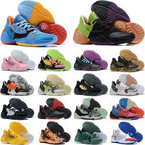 2020 새로운 남성 제임스하든 4 권. 4 개 4S IV MVP 4 권 남자 농구 신발 야외 스포츠 교육 운동화 크기 40-46