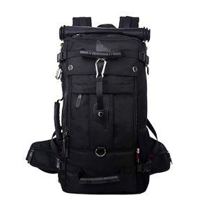Große Reise Rucksack Latop Tasche Tornister 50L kampierenden Tasche Wasserdichte Rucksack für 17-Zoll-Laptop Multifunktionsrucksack Schultasche