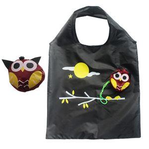 5шт Симпатичные женщины животных Сова образный складной хозяйственная сумка Экологичный многоразовые Tote Bag