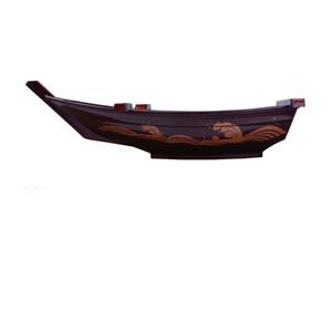 ABS النمط الياباني المطبخ التنين قارب الصحن السوشي قارب سعر سمك السلمون لوحة عصا الجسم على الجاف الجليد المطبخ قارب القرص النمط الياباني Su98qx p1